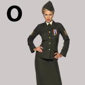 costume lettre O