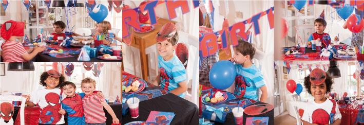 décoration anniversaire supers héros