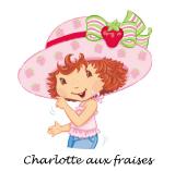 decoration anniversaire charlotte aux fraises
