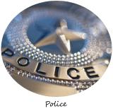 decoration anniversaire police