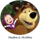 decoration anniversaire masha et michka