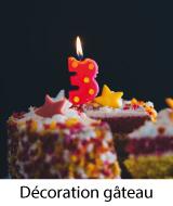 deco gâteau anniversaire