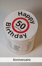 accessoires humour anniversaire