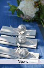 decoration mariage argent