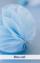 decoration mariage bleu ciel
