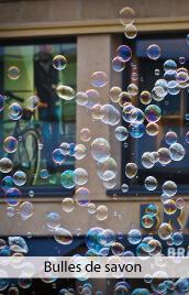 bulles de savon mariage