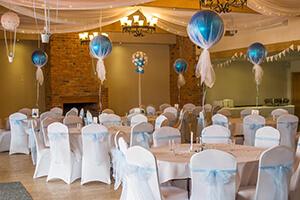 decoration salle mariage avec ballons