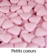 dragées petits coeurs