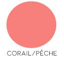 décoration mariage corail/pêche