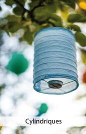 lampions cylindriques papier