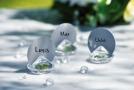 Diamants porte noms pour déco de table