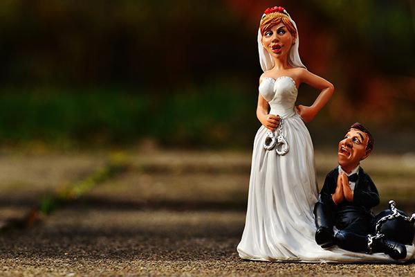 Figurine Mariage Sujet Maries Pas Cher