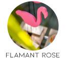 theme mariage flamant rose