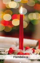 bougies flambeaux pas cher
