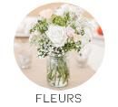 theme mariage fleurs