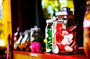 Récipient pour bonbons