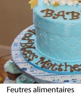feutres gâteaux anniversaire