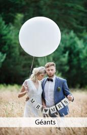ballon géant mariage, anniversaire, bapteme, communion
