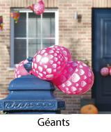 des ballons géants anniversaire, mariage...