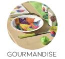 theme mariage gourmandise