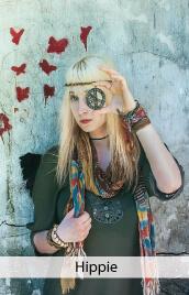 accessoire costume hippie