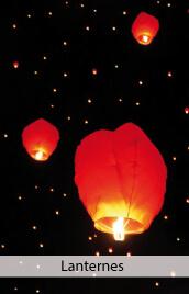 lanternes volantes mariage