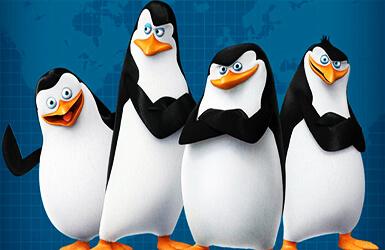 deco anniversaire les pingouins de madagascar