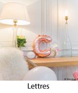 ballon lettres helium anniversaire mariage bapteme