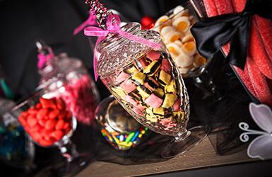 bonbonniere candy bar. Black Bedroom Furniture Sets. Home Design Ideas