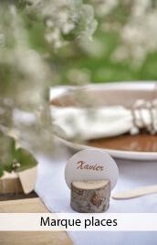 marque place mariage, bapteme, communion, anniversaire