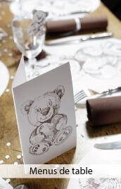 menus de table pas cher