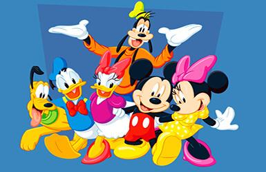 Mickey minnie et leurs amis f tent l 39 anniversaire de - Amis de mickey ...