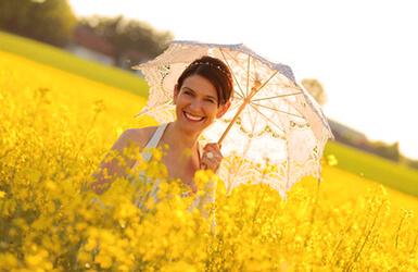 ombrelle de la mariee
