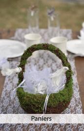 panier petales mariage
