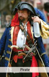 accessoire costume pirate