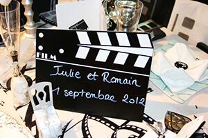 deco mariage cinema