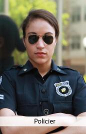 accessoire costume policier