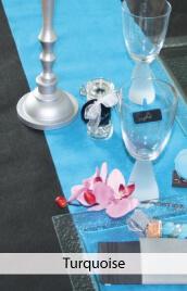 decoration mariage turquoise