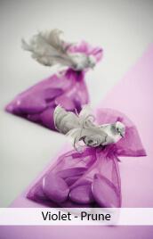 decoration mariage violet prune