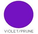 décoration mariage violet/prune