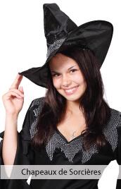 accessoires deguisements chapeaux de sorcières