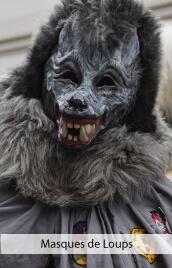accessoires deguisements masques de loups