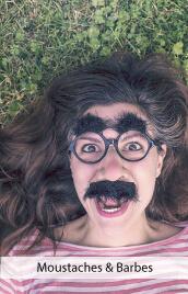 accessoires deguisements moustaches barbes